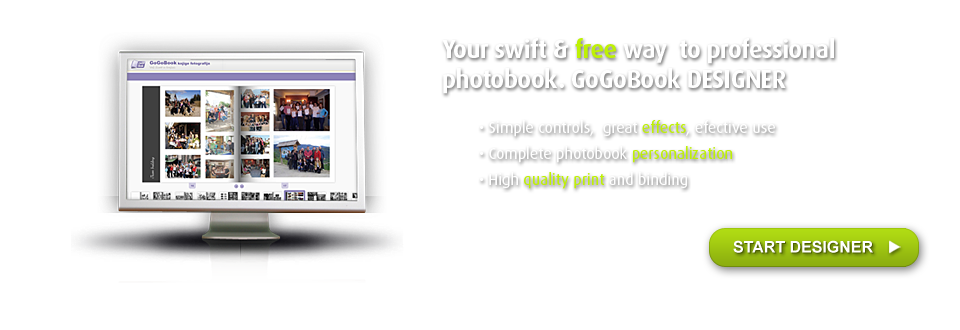 Try new photobook software - GoGoBook